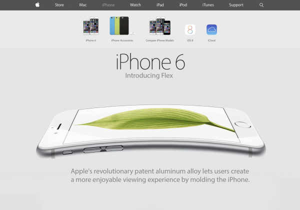 iPhone 6 BendGate BentGate Flex