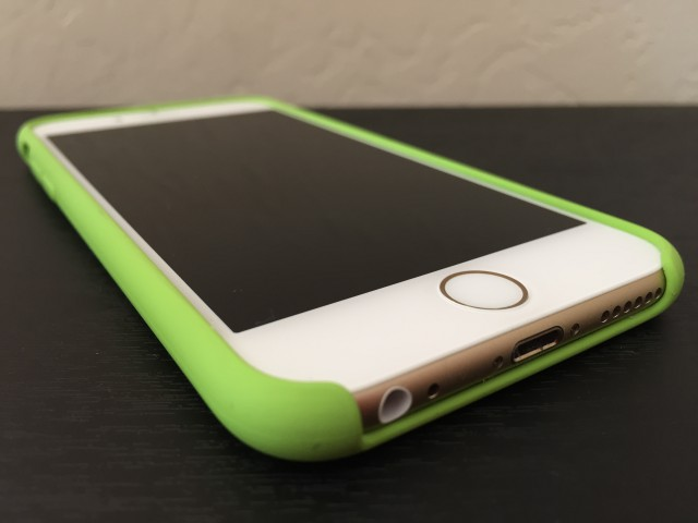 iPhone 6 with Apple case