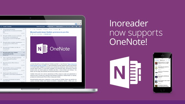 Calling all RSS fans! InoReader now supports Microsoft OneNote