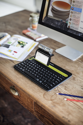 Logitech Introduces Cross Platform Keyboard For Phones