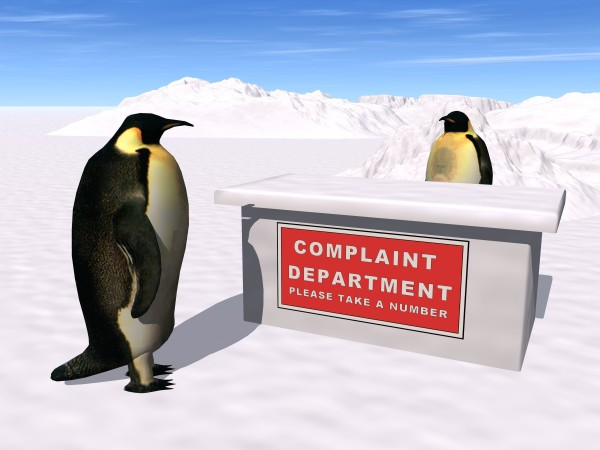 PinguineBeschwerden