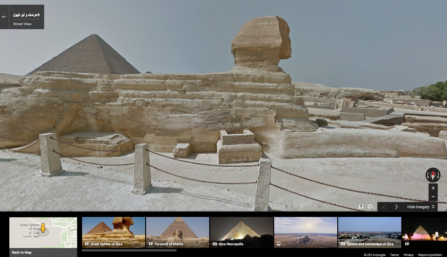 Google street view visits egypt tours pyramids and more gumiabroncs Images