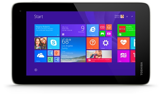 Toshiba's 7-inch Encore Mini is one of the most affordable Windows tablets yet