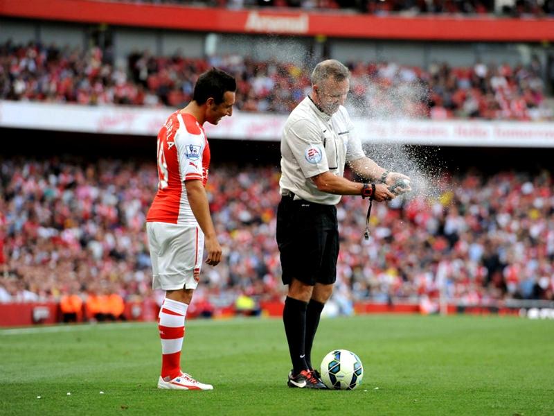 technology football soccer spray better changing down