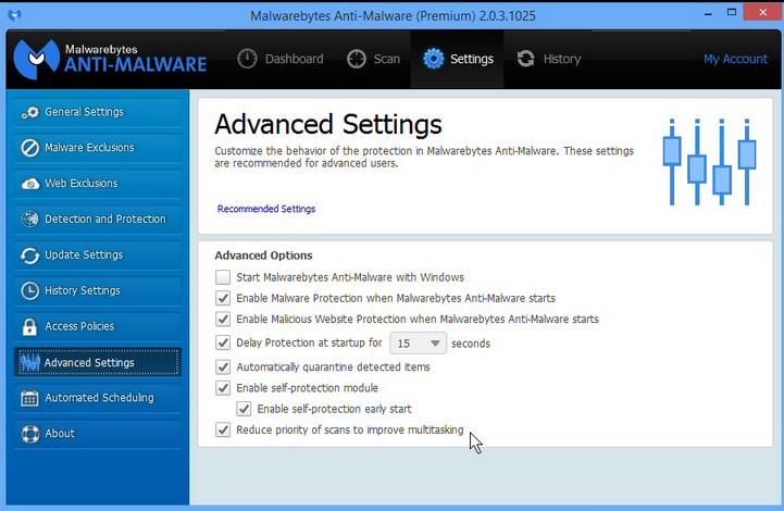 Malwarebytes Anti-Malware improves multitasking, adds keyboard navigation support