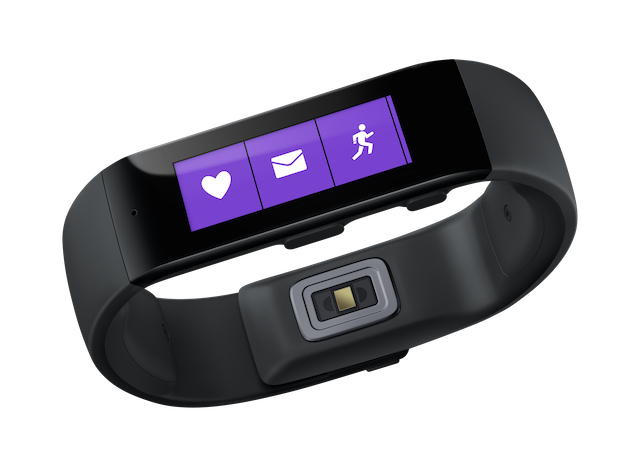 microsoft introduces band smart activity tracker health platform