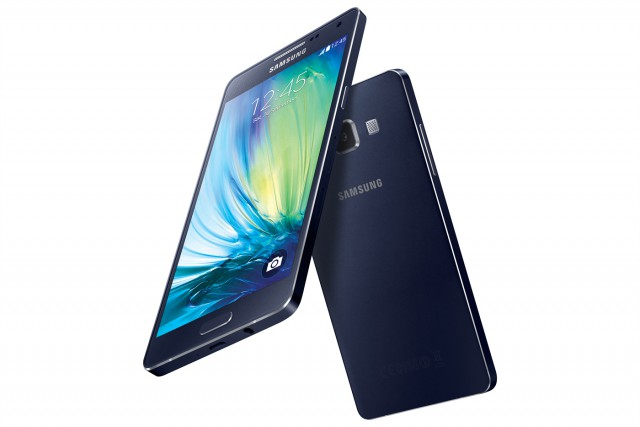 samsung 39 s new galaxy a5 a3 smartphones boast very thin. Black Bedroom Furniture Sets. Home Design Ideas