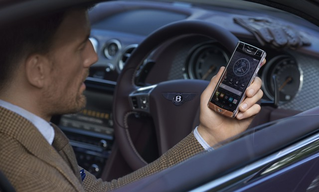 Vertu Unveils New Smartphone For Bentley Owners And