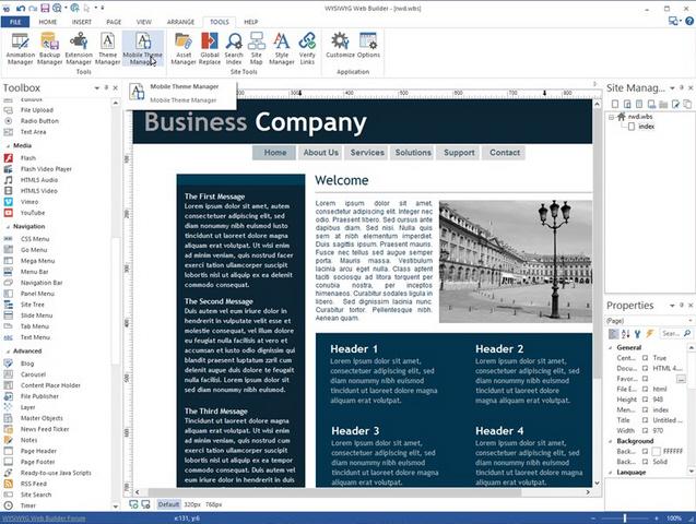 WYSIWYG Web Builder 10