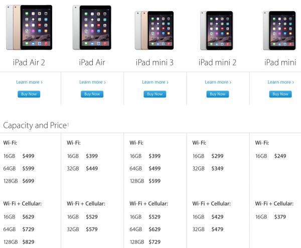 iPad Configs