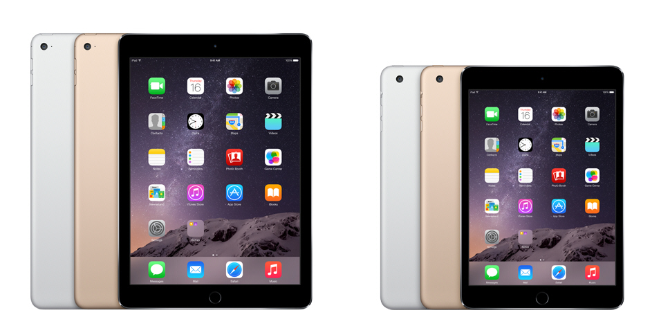 ipad air 2 and ipad air mini
