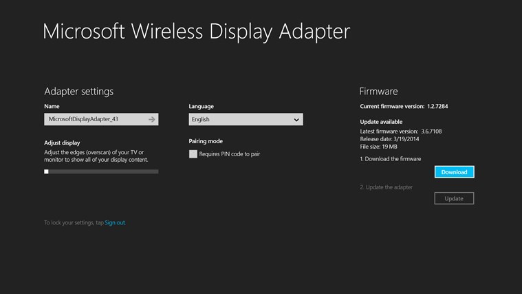 microsoft display adapter