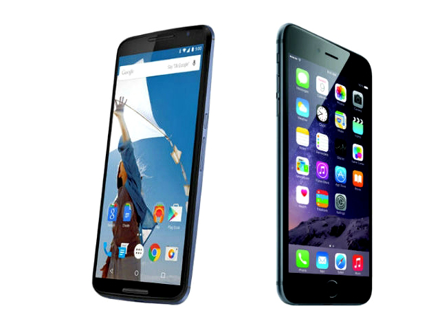 Phablet showdown: Google Nexus 6 vs Apple iPhone 6 Plus
