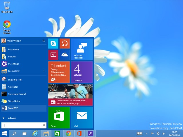 Windows 10's Start menu both pleases and appalls