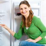 woman-freezer