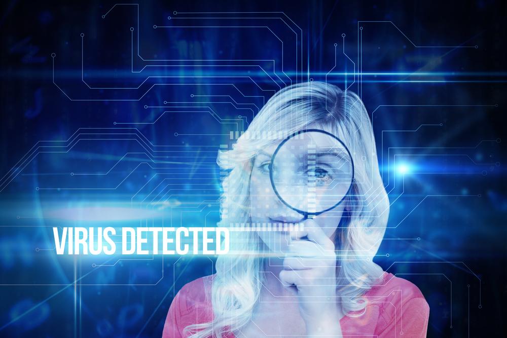Malware virus detected