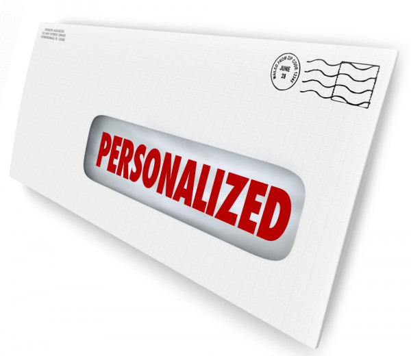 Personalized mail
