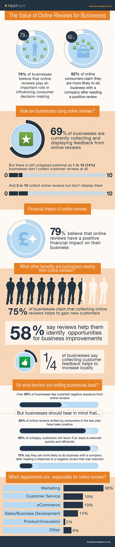 Trustpilot Business Survey Infographic US