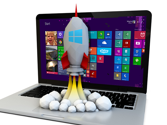Windows 8 rocket
