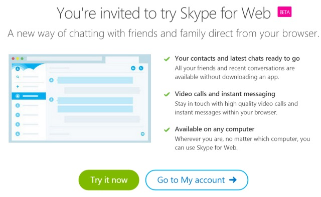 Skype for Web beta brings voice and video chats to your browser without plugins