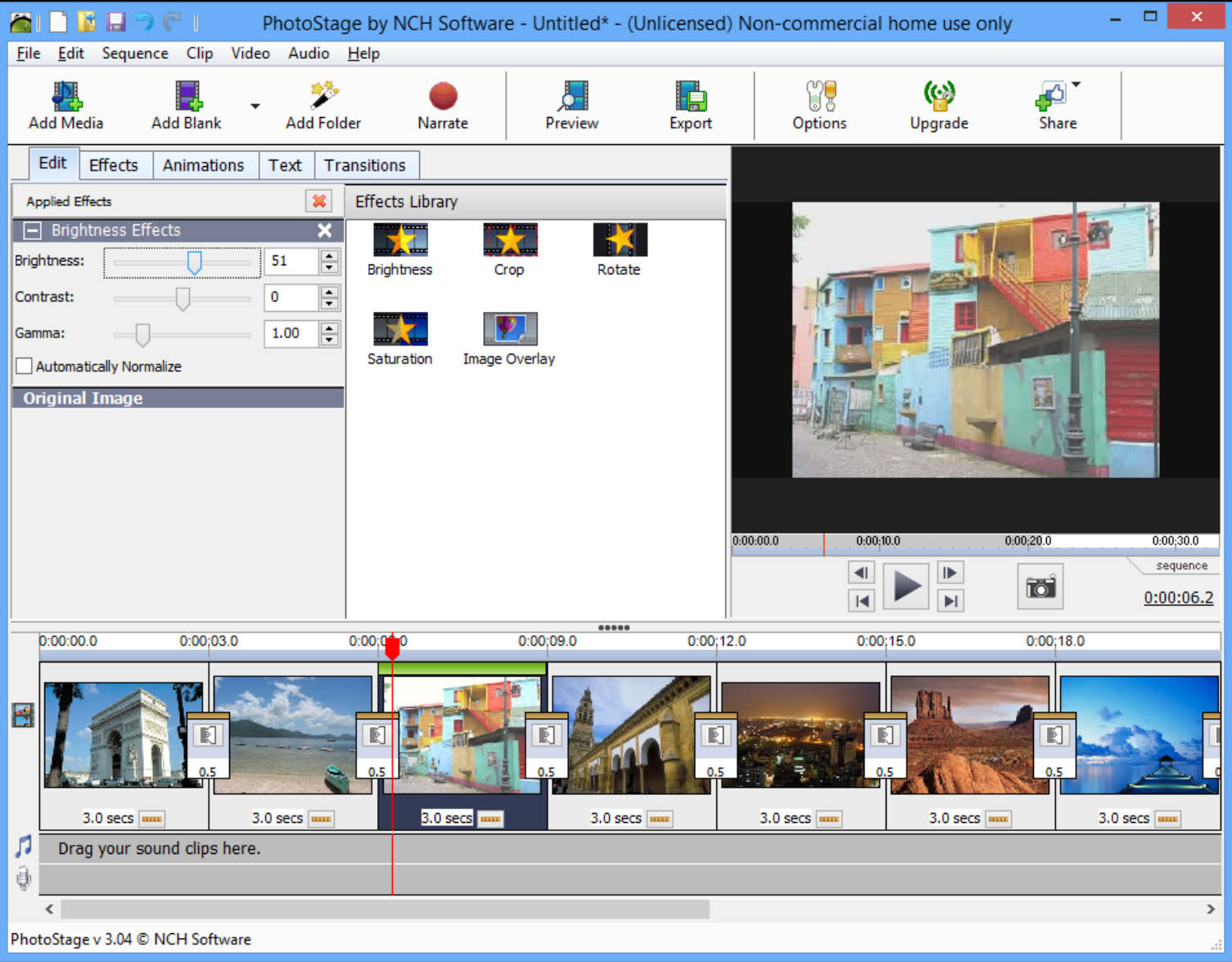 NCH PhotoStage Slideshow Producer Professional 4.17 Beta