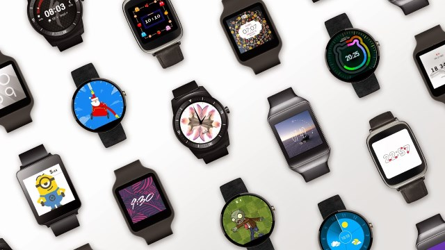 Android Wear users can now download watch faces from Google Play