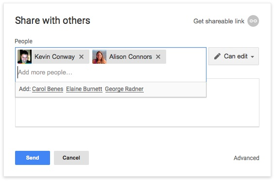 File sharing in Google Drive and Docs just got easier
