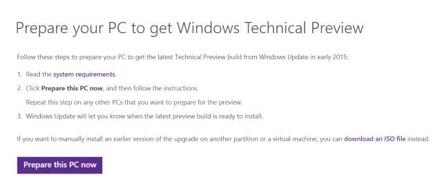 Prepare your PC for Windows 10