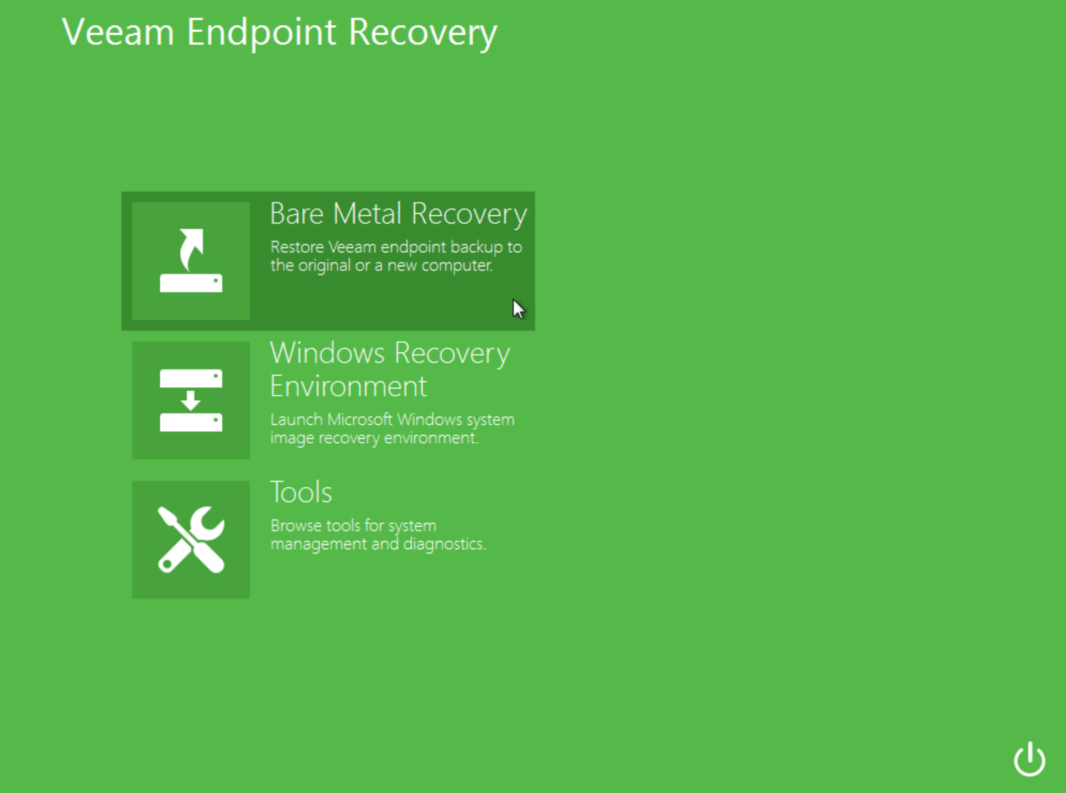 veeam endpoint