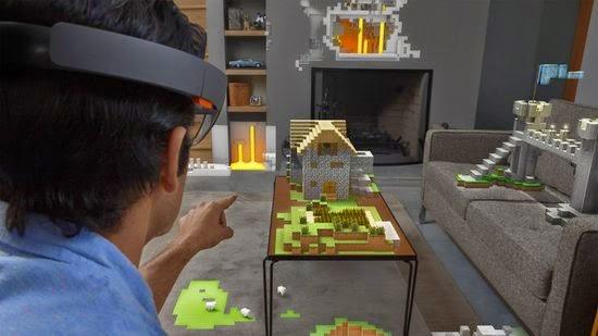HoloLens - Minecraft