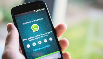 Messaging service smartphone WhatsApp