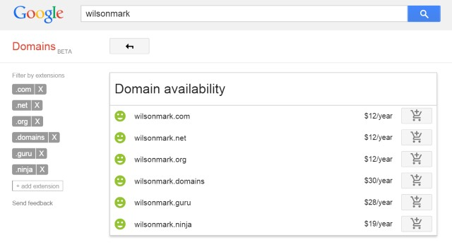 Google Domains launches as beta service in US
