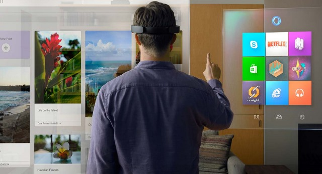 Microsoft steps into the future with HoloLens, holographic computing meets virtual reality