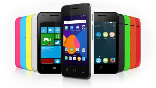 Alcatel Pixi 3 comes with a choice of three OSes -- and Android will still win