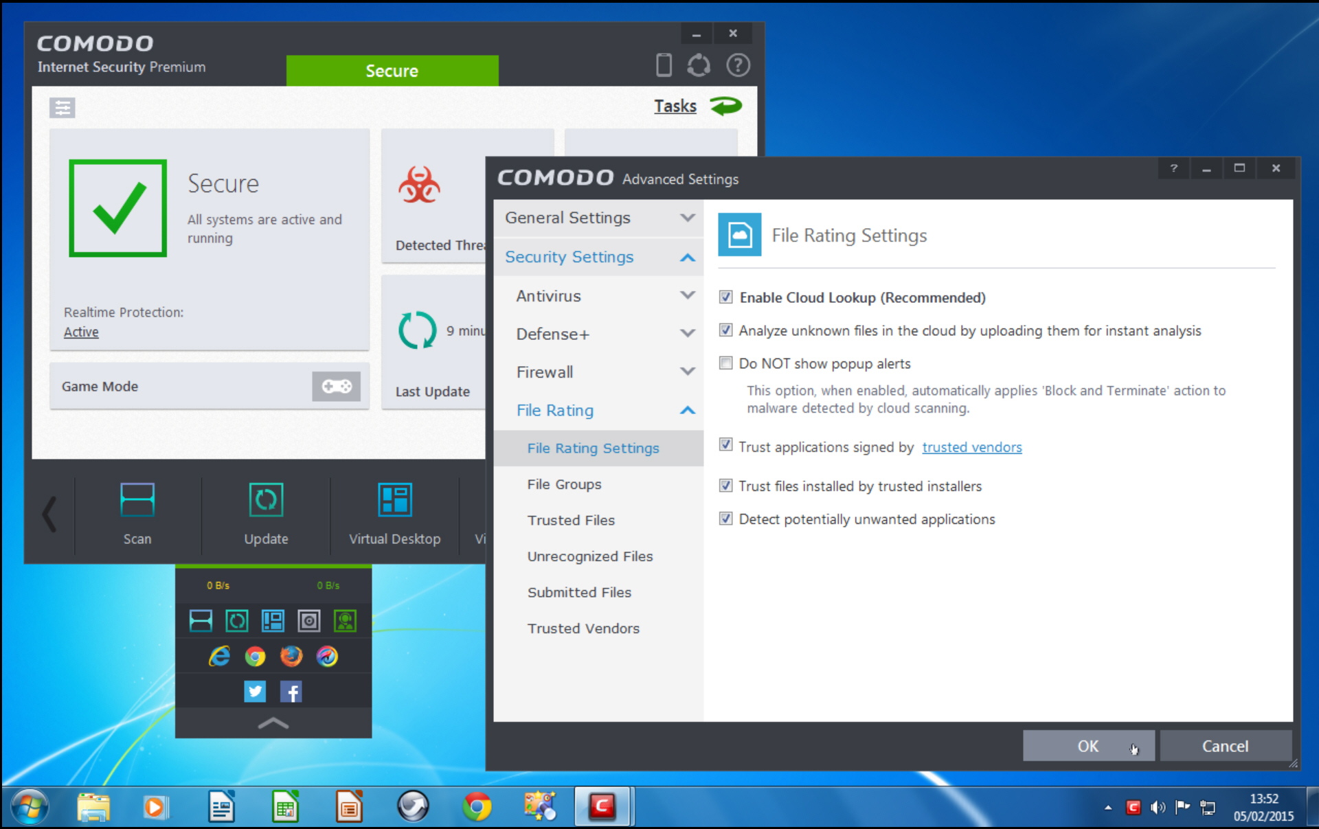 Comodo Internet Security 8.1