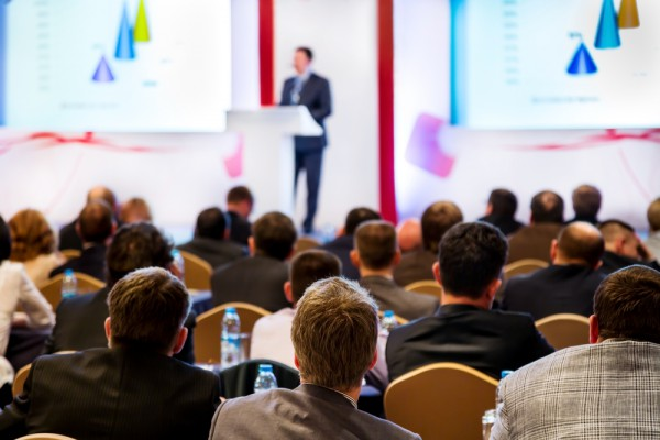 Conference lecture presentation
