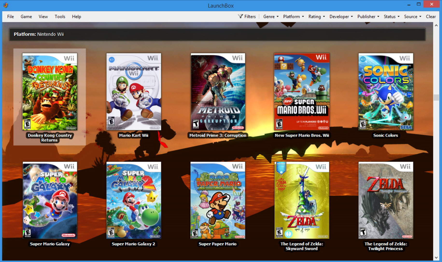Launchbox Is A Gorgeous Game Database And Launcher