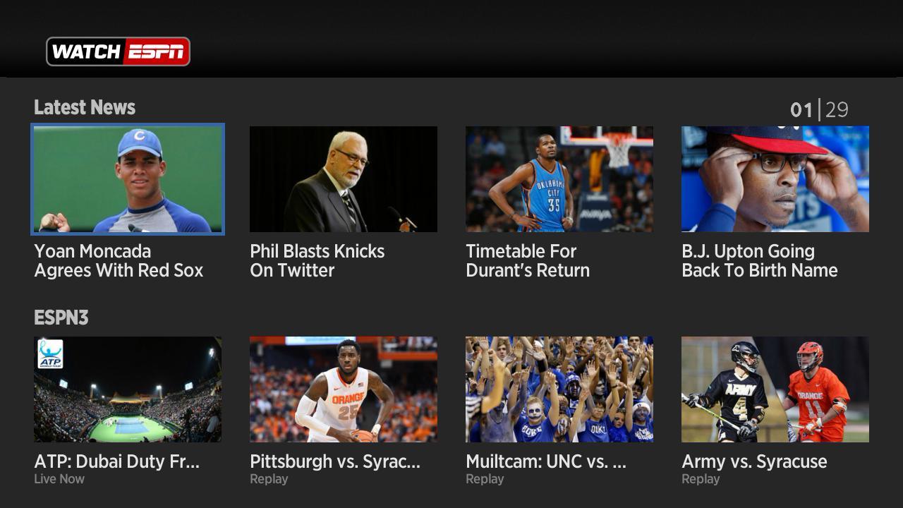 Watchespn Hits Roku More Channels On The Way