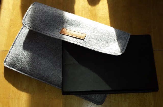 Inateck Surface Pro 3 felt sleeve tablet case [Review]