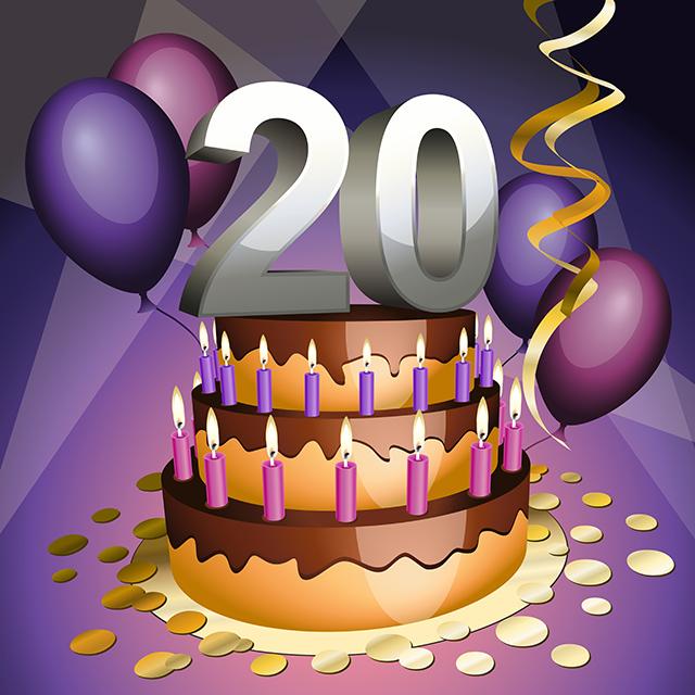 20 cake