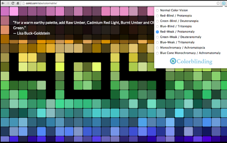Colorblinding