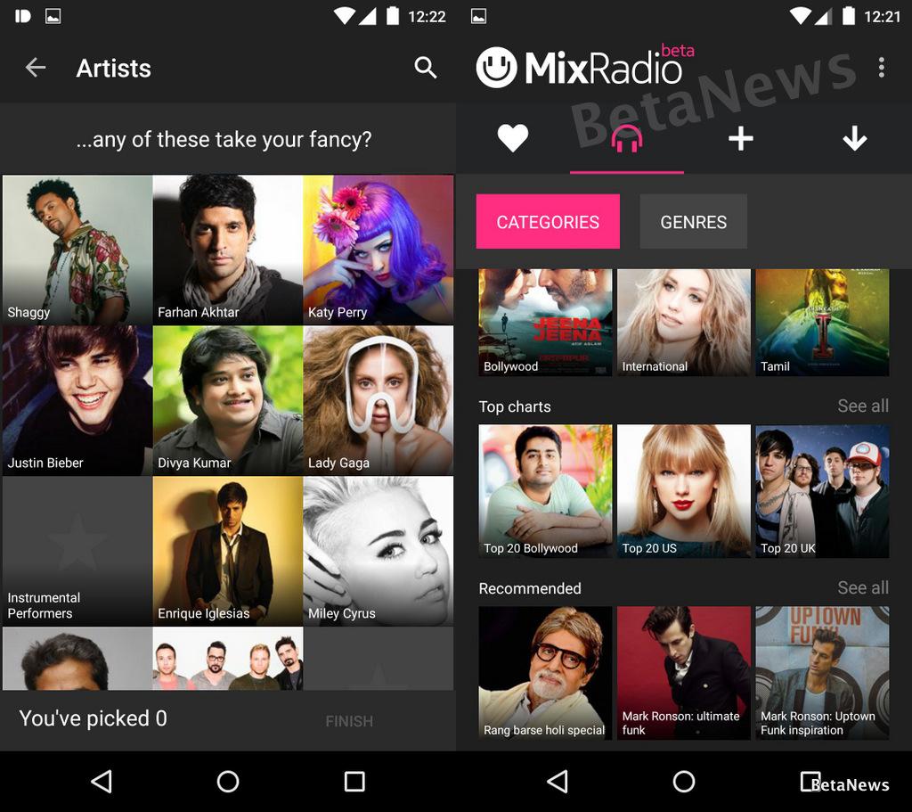 MixRadio 2