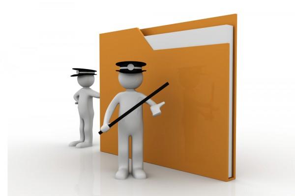 Police legal data folder