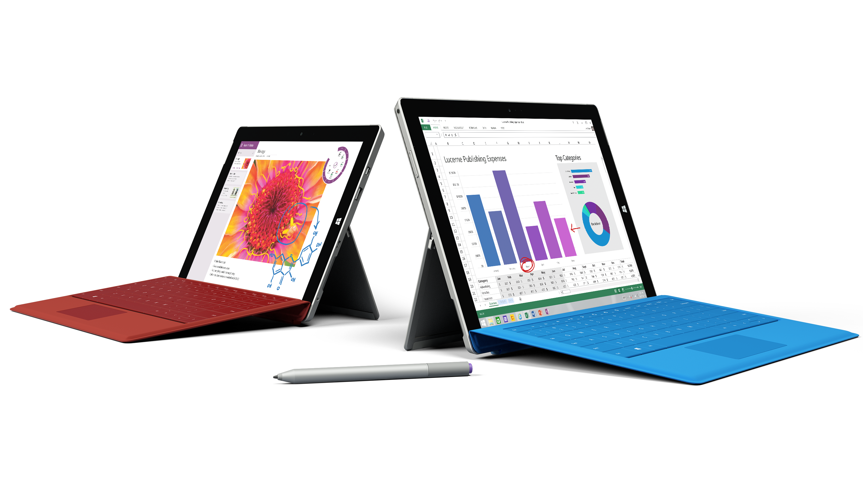 Surface 3 + Surface Pro 3