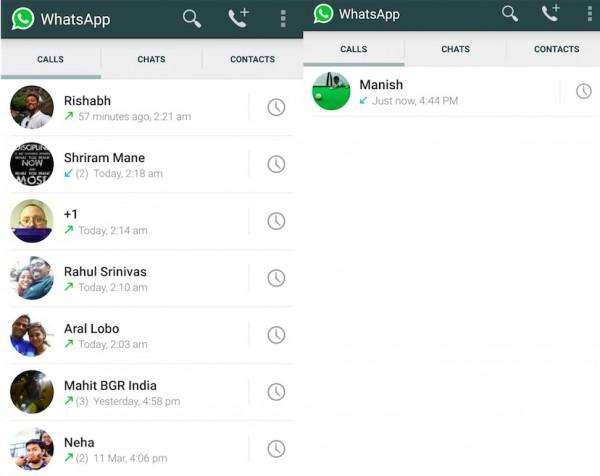 WhatsApp Internet-Sprachanruf