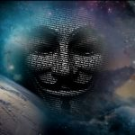 anonymous goes into space