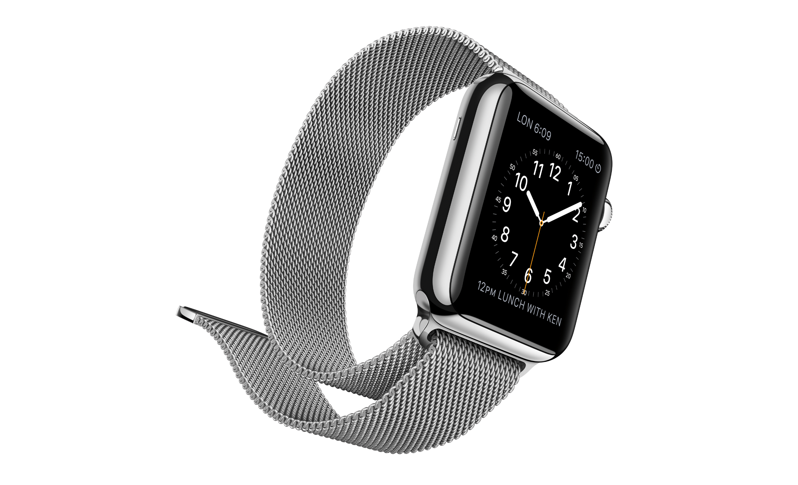 apple watch steel