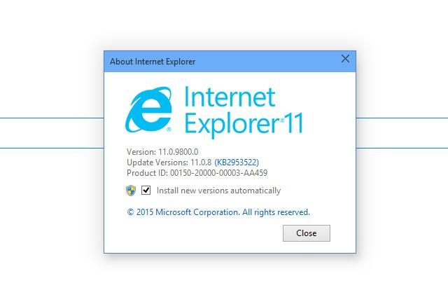 update internet explorer 11 for windows 7