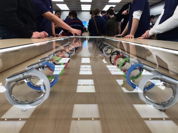 Apple Watch in Apple store