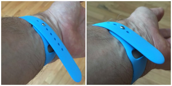 Sport strap: Too long or too short
